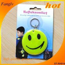 Reflective soft PVC tape reflective key chain keychain usb keychain digital voice recorder