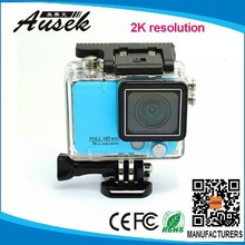 2015 wifi full hd 1080p helmet 4K sport action camera waterproof 50m from china factory
