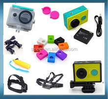 2015 action xiaomi yi waterproof case, waterproof case for xiaomi yi action camera