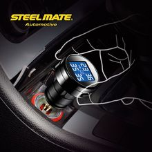 2015 Steelmate TP-74B lcd monitor tpms car tyre tire pressure,type pressure monitor system, tpms for truck