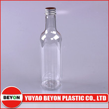 (ZY01-D052) wine bottle shaped plastic bottle