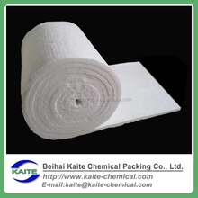 Density 64kg/m3 96kg/m3furnace fireproof refractory fiber Double needled 1430 25mm thickness cerammaterial ceramic fiber blanket