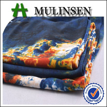 Mulinsen Textile Knit Stretch Polyester Camouflage US Navy Print Fabric For Garments