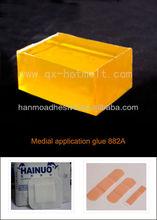 Yellow Hot Melt Wound pasting Adhesive