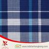 Wholesale cotton fabric Blue checks bulk cotton fabric