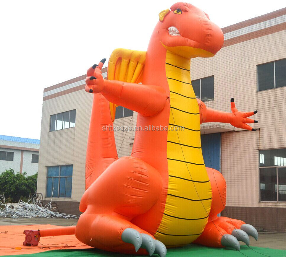 commercial grade inflatable giant dragon