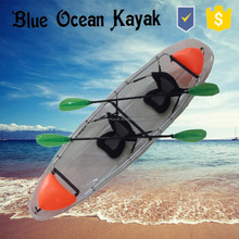 Blue Ocean 2015 summer stlye transparent kayak/ocean transparent kayak/touring transparent kayak