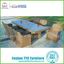 outdoor dining table rattan cube garden furniture sets