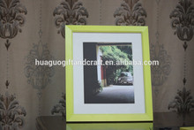Mdf amarillo de la foto del marco, Caliente divertido del bebé photo frames, Día del niño del regalo