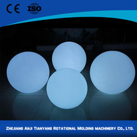 Plastic battery operated christmas light balls for party