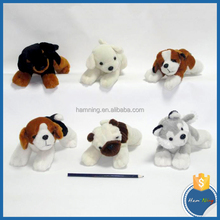 super soft lies prone 6 colors Mottled dog stuffed toy
