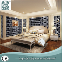Eco-friendly cheap hotel wallpaper for solvent printing