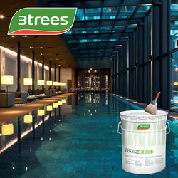 3TREES Low-voc colorful waterproof wall coating (free sample)