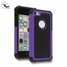 Phone Bag For i5C Filp Cover for iPhone 5C with 3 in 1 TPU Case