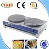 stainless steel commercial electric crepe machine for sale
