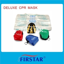 OEM Manufacture Portable disposable first aid mouth masksoneway value cpr mask