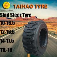 China factory bobcat tyre backhoe tyre 10-16.5 12-16.5 14-17.5 11L-16 skid steer tyre