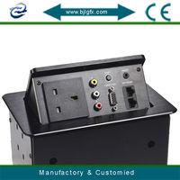 Hidden desk top socket uk plug socket 250v(UK100A)