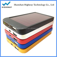 Hot Selling Solar Power Bank 2600mah Solar Mobile Charger Essential for Outdoor Use