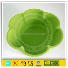 Colorful Food Grade Eco-friendly Silicone Collapsible/Foldable Pet Water/Food Bowls