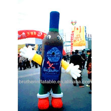 Very hot customize inflatable bee bottle costume for promotion