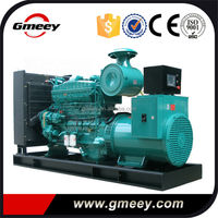 Gmeey 200kw-330kw ac three phases backup power generator by cummins generator