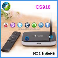 CS918 best cs918 rk3188 quad core With external wifi antenna 2GB RAM Android 4.2.2 quad core rk3188 cs918 smart tv box