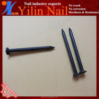 low price / high quality black hard concrete steel nails