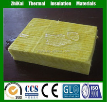 china fire resistant materials fiber glass wool panel with foil