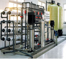 Molecular RO+EDI water treatment plant/machine/system for injection in hospital
