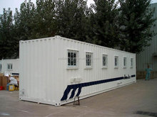 prefabricated container house/living room/toilet/kitchen/office container house
