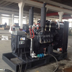 8-1000kw bottom price wood gas generator for sale with ISO 9001