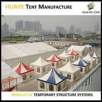 PAGODA tent from China - EXW prices from MANUFACTURER