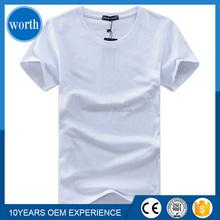 2016 new design cheap plain men's T shirt for promotion