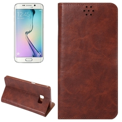 Superior quality Crazy Horse leather stand case for Samsung s6 edge plus phone case