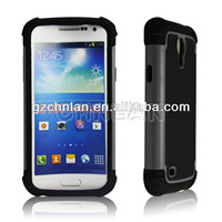 New arrival Football design 3 in 1 combo case for samsung galaxy s4 mini i9190 i9192 case