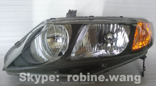 Replacement Head Lamp For Honda CIVIC '06-'11 , Head Light