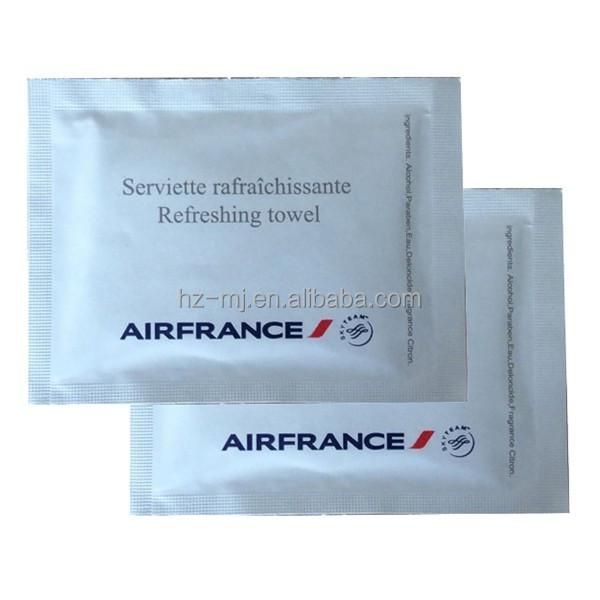 良い品質のためのアメニティキットさわやかなワイプの一つのために私たちの航空会社のcleints