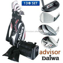 [golf club set] Daiwa advisor golf A8 golf club set 13pc(1W,3W,5W,UT,I5-SW,PT) with caddy bag