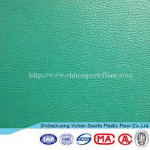 YICHEN indoor sports pvc plastic floor / plastic mat for badminton court used