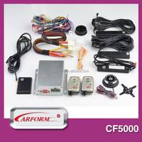 Hot hand free intelligient pke security car alarm system