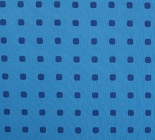 Blue square printed cotton fabric design for Ironing board cloth