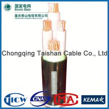 Top Quality 3x2.5mm2 indian standard 1.8/3.6kv 3*95mm2 pvc cable