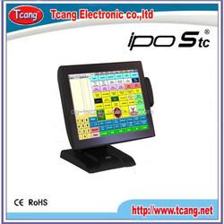 Top level promotional true flat portable pos wifi machine