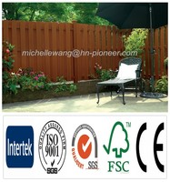 Easy install top quality Europe Popular garden fence panels, cheap wood fence panels, decorative garden fence panels