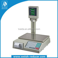 Electronic A-806 digital weighing scale printer weighing scales for fruits