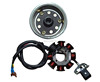 Magneto coil and stator for CG 125cc engine