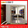 interior aluminum partition wall door/glass interior partition wall door