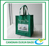 Stylish fashion green cart shopping tote carry bag with cheap price