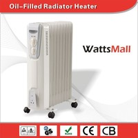 Air Electric Oil-Filled Radiator & Convector & Electric Heater with Euro plug